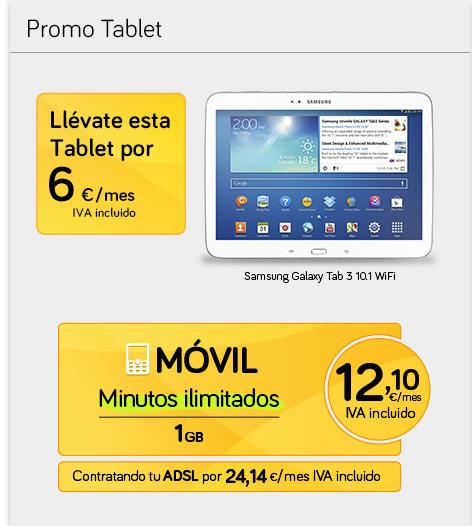 noticias jazztel te da a elegir entre  lineas de movil gratis o una tablet