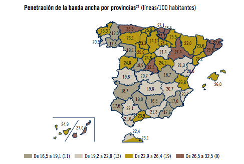 Mapa De Cobertura Vodafone.Asi Es El Mapa De Cobertura De Internet En Espana