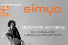 Simyo aumenta los Gigas de sus tarifas manteniendo el precio