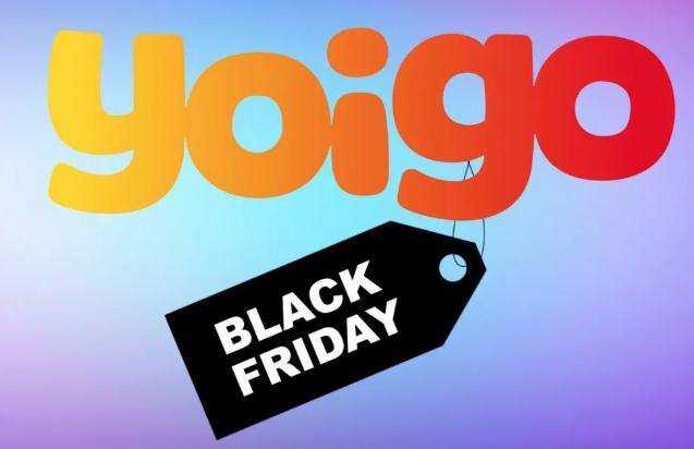 El mejor Black Friday de Yoigo