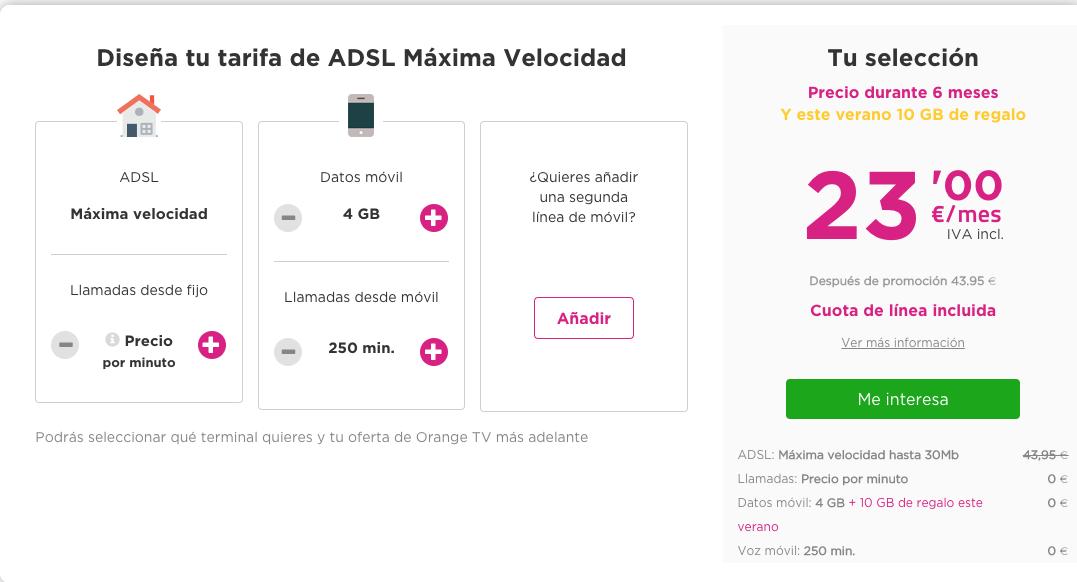 Rebajas Jazztel ADSL y Móvil Junio